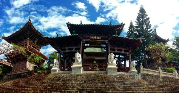 Toàn cảnh chùa Minh Thành. (Nguồn: @czechgirlinworld)