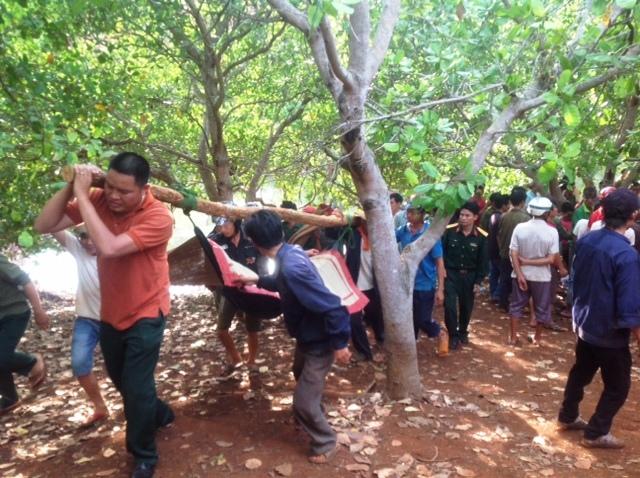 Các em học sinh bị đuối nước tử vong tại xã Ia O, huyện Ia Grai