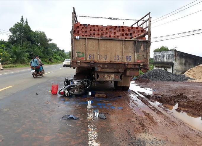 Hiên trường vụ tai nạn