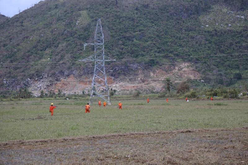 Cơn bão số 12 đổ bộ vào các tỉnh Nam Trung Bộ vừa qua đã gây thiệt hại lớn về người và tài sản, trong đó lưới điện các tỉnh này cũng chịu nhiều thiệt hại, hàng ngàn hộ dân bị mất điện...
