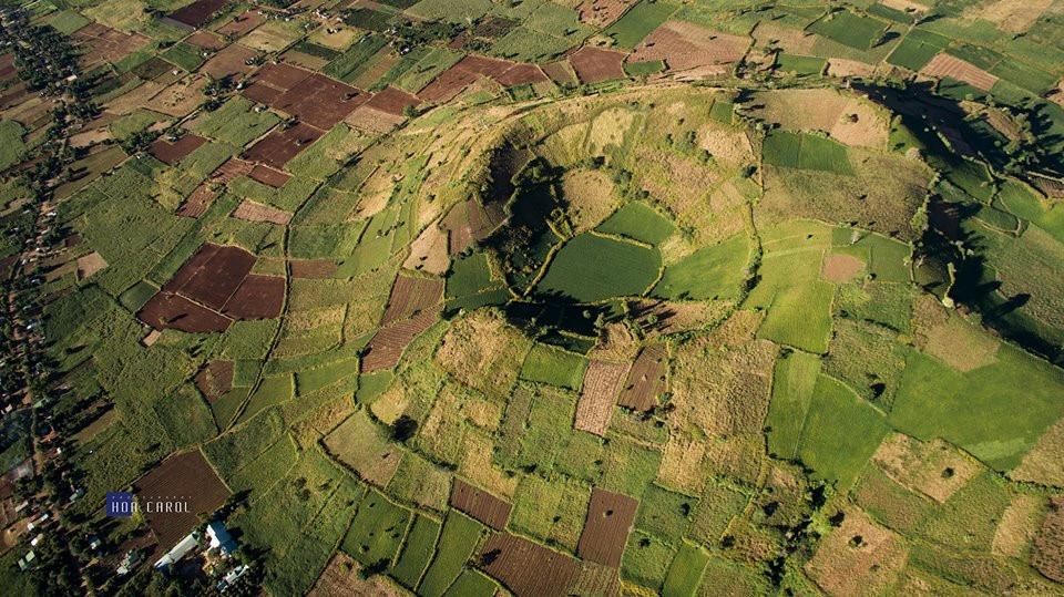 Toàn cảnh núi lửa Chư Đăng Ya qua góc nhìn flycam