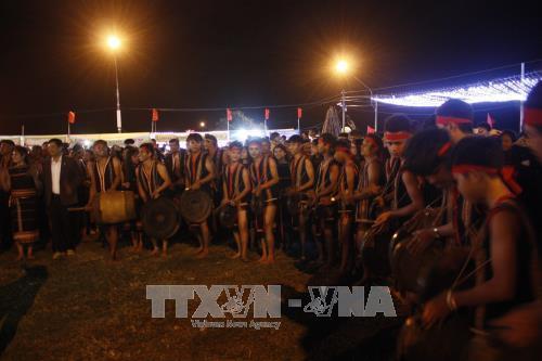 Một hoạt động tại Lễ hội hoa Dã quỳ - Núi lửa Chư Đang Ya năm 2017. Ảnh: Hồng Điệp – TTXVN