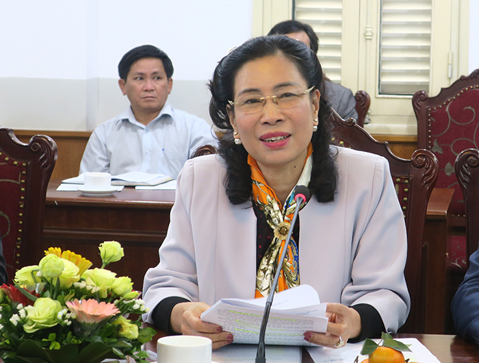 Thứ trưởng Đặng Thị Bích Liên đánh giá cao công tác chuẩn bị Đề án tổ chức Festival văn hóa cồng chiêng Tây Nguyên của UBND tỉnh Gia Lai