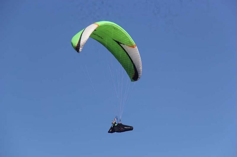 Các phi công đánh giá Chư Đăng Ya là địa điểm rất thuận lợi để phát triển dù lượn.