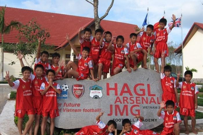 Lò đào tạo trẻ của HAGL cung cấp những cầu thủ chất lượng cho U23 Việt Nam. Ảnh M.V