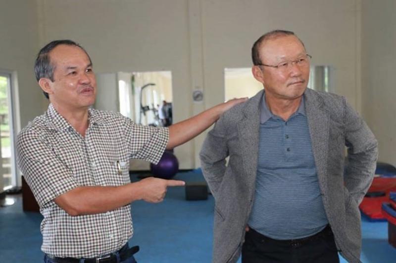 Bầu Đức và ông Park Hang-seo