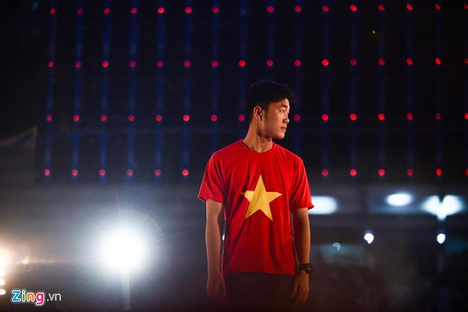 Xuân Trường là đội trưởng, thủ lĩnh, người gắn kết U23 Việt Nam trong kỳ tích Á quân châu Á. Ảnh: Tùng Tin.