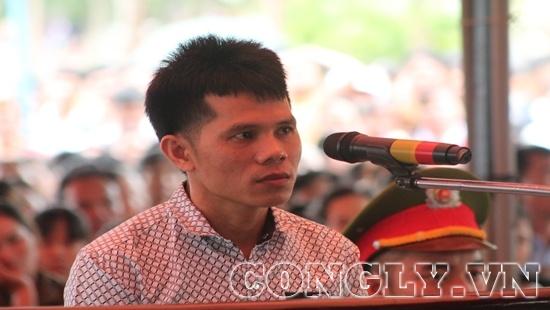Nguyễn Thanh Tùng tại phiên xét xử