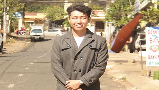 Anh Trần Vũ Luân, người trả lại 88 triệu đồng cho người đánh rơi