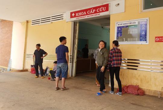 Khoa cấp cứu tại Bệnh viện Đa khoa tỉnh Gia Lai, nơi ông Hải lăng mạ các y bác sĩ, đập hỏng thiết bị y tế