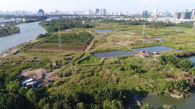 Dự án Khu dân cư Phước Kiển được công ty Tân Thuận bán cho Quốc Cường Gia Lai với giá 419 tỷ đồng, chênh so với giá thị trường 2.000 tỷ đồng.