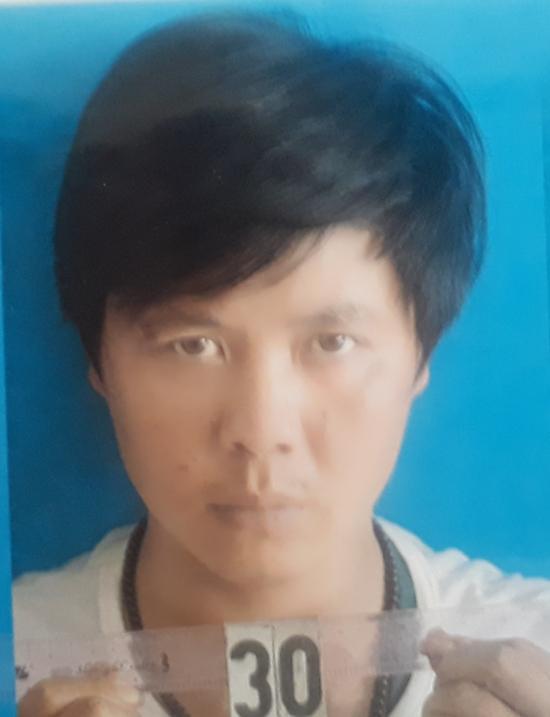 Cao Minh Thành khi bị bắt giữ