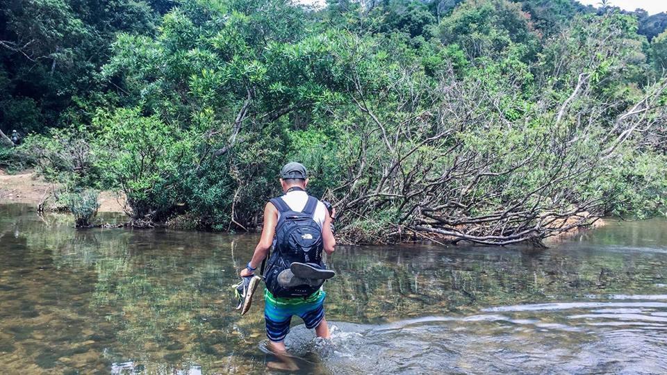 Chúng tôi chinh phục thác K50 bằng chính đôi chân của những người đam mê thiên nhiên hoang sơ.