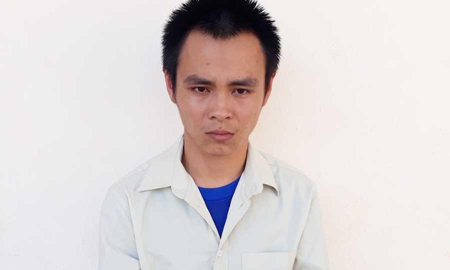 Đối tượng Nguyễn Ngọc Phong. Ảnh: Phan Lê