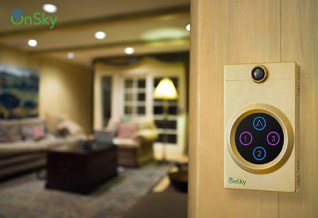 Công tắc thông minh 3 kênh cho phép điều khiển lên đến 3 nhóm/dãy đèn