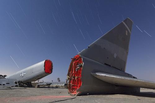 Những chiếc máy bay hư hỏng nặng