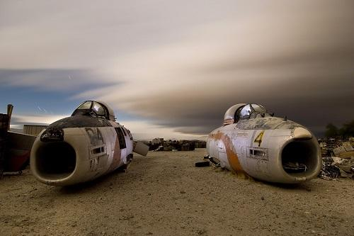 Từ chiến đấu cơ B-52 đến những chiếc máy bay thương mại đều được đưa về đây. Ảnh: Troy Paiva