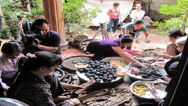 làng nghề bánh gai Ninh Giang