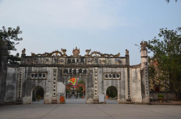 Đền Kiếp Bạc là nơi thờ phụng Trần Hưng Đạo (Ảnh: TL)