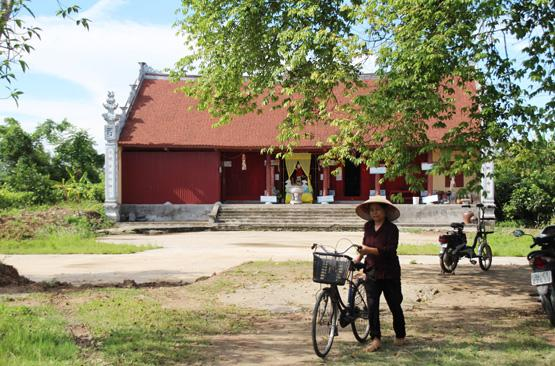 Chùa Quang Minh nơi thiền sư Huyền Chân tu hành