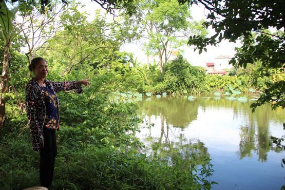 Giếng chùa nơi lấy nước để vua Minh Thần Tông tắm