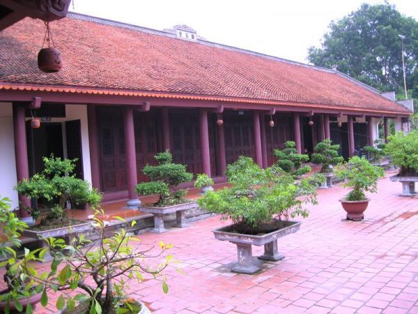 Một nét đẹp thanh tịnh nơi chùa Giám. (Nguồn: Internet)