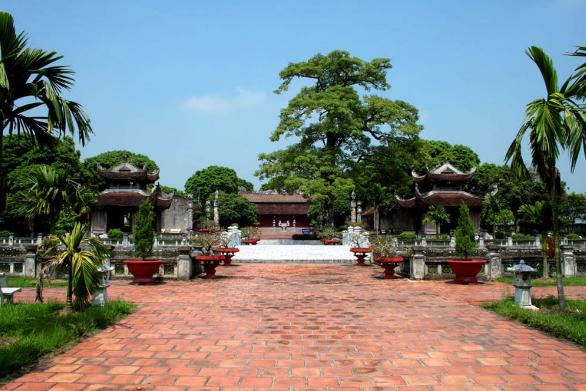 Tổng quan khu di tích Văn miếu Mao Điền. (Nguồn: camgiang.haiduong.gov.vn)