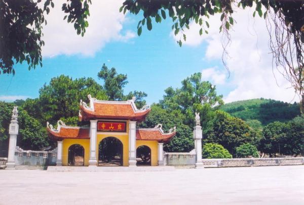 Quang cảnh chùa Côn Sơn. (Nguồn: minhdidauthe.com)
