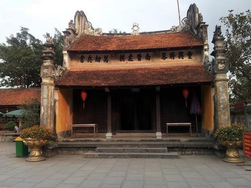 Một góc nhỏ ở đền Kiếp Bạc. (Nguồn: vamvo.com)
