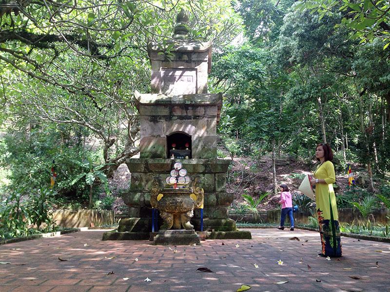Một góc chùa Thanh Mai (Ảnh: Ngọc Ánh)
