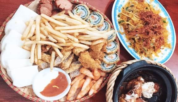 Đa dạng các món ăn vặt (Nguồn: Foody)