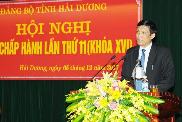 Giám đốc Sở Giáo dục và Đào tạo Vũ Văn Lương. Ảnh: Thành Chung