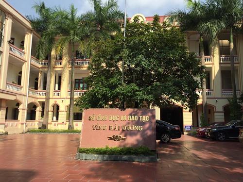 Sở GD&ĐT Hải Dương.