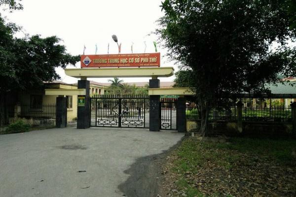 Trường THCS Phú Thứ. Ảnh: L.N.
