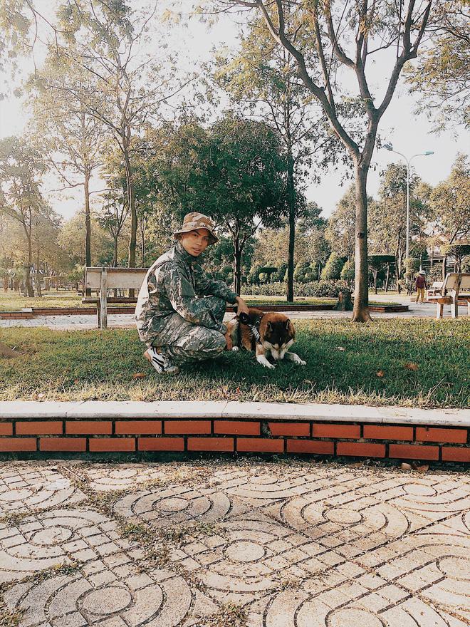 Được biết, Nguyễn Tiến nuôi chú chó Husky này đã được hai năm nay, từ khi còn là một chú cún con.