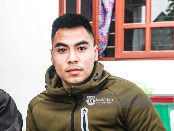 Tiền vệ Phạm Đức Huy hiện đang nghỉ ngơi tại quê nhà.