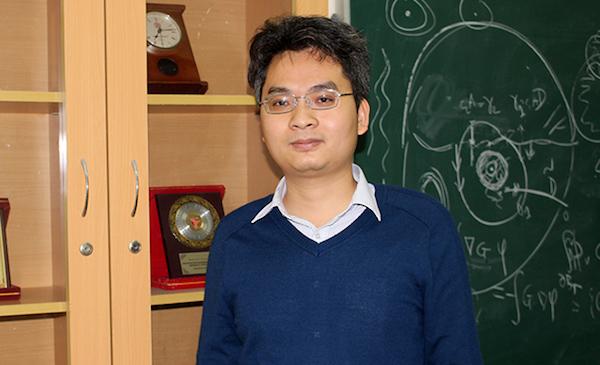 Tân giáo sư trẻ nhất năm 2017 năm nay tròn 36 tuổi (ảnh:Phạm Phượng)