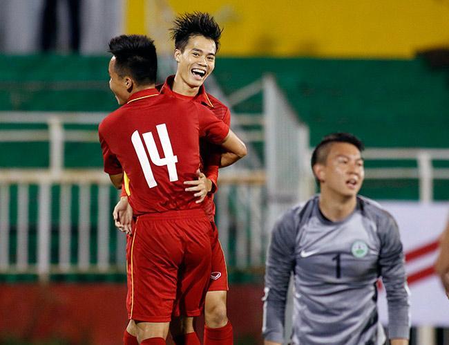 Anh đóng góp công lớn vào chiến thắng 4–1 của đội tuyển Việt Nam- ảnh 24h.com.vn