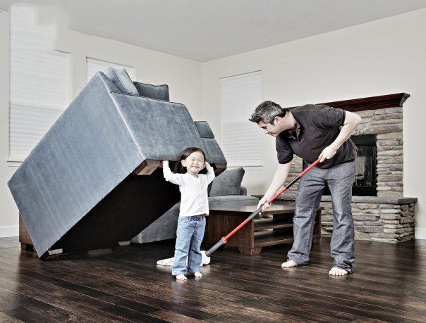 Kiêng quét nhà trong những ngày đầu năm mới. (Nguồn: soha.vn)