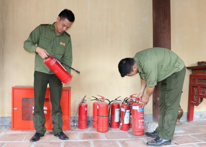 Kiểm tra thiết bị chữa cháy