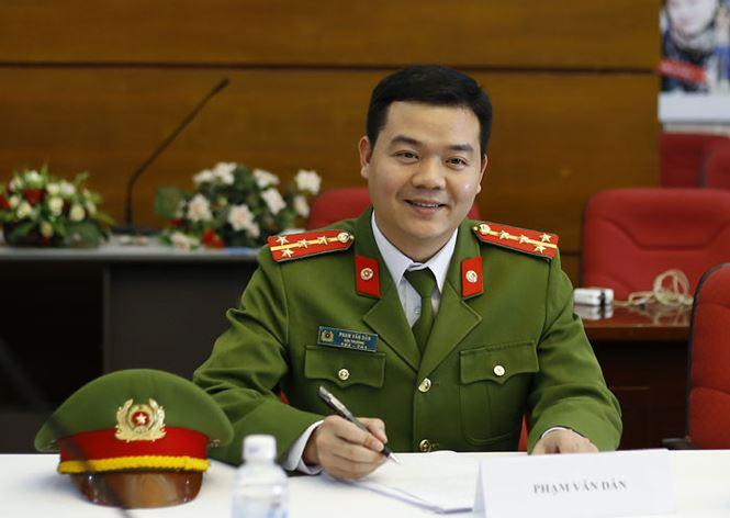 Đại úy Phạm Văn Dân, cảnh sát hình sự, công anh tỉnh Hải Dương- ảnh Tiền Phong