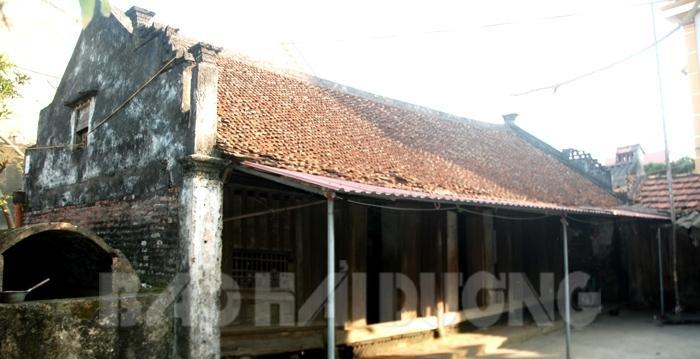 Căn nhà hơn trăm tuổi ở thôn Phúc Tân, xã Gia Tân (Gia Lộc)