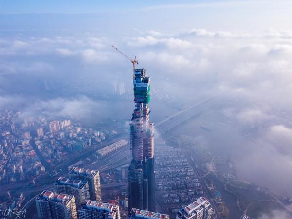 Sau khi hoàn thành, chiều cao ấn tượng mà Landmark 81 thiết lập sẽ lọt top 8 những công trình cao nhất thế giới.