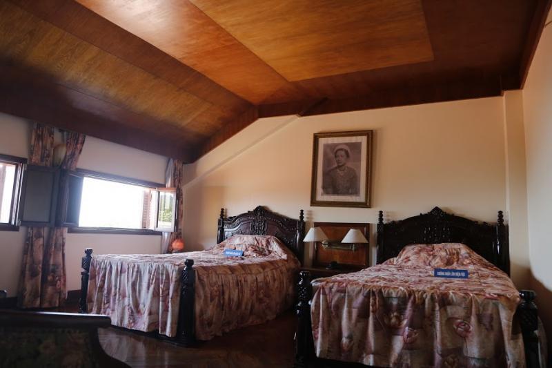 Phòng ngủ của công chúa Phương Liên.