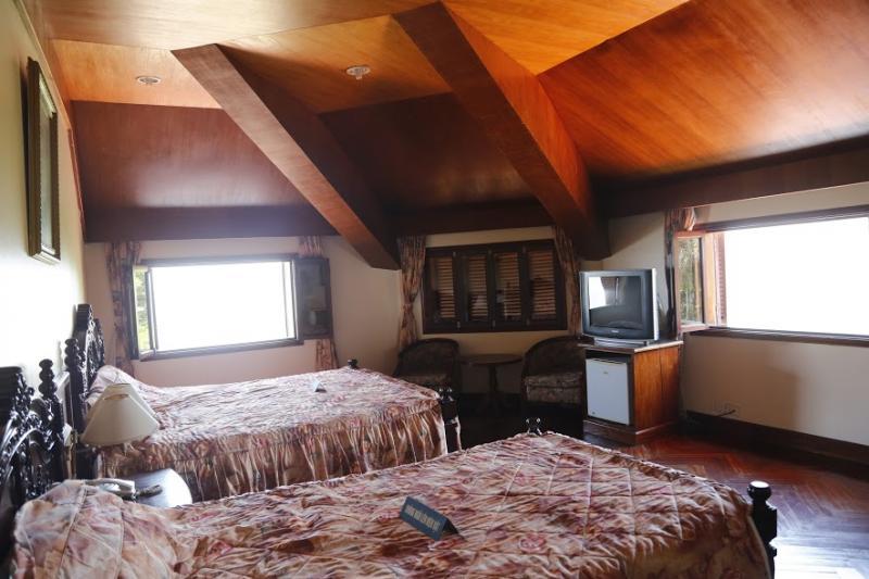 Phòng ngủ Hoàng Thái tử Bảo Long.