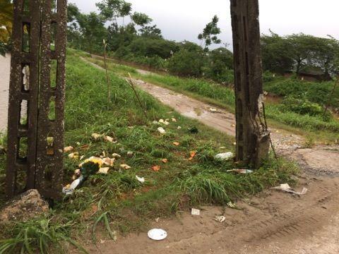 Hiện trường nơi một kẻ trộm chó bị người dân huyện Phú Xuyên, Hà Nội đánh chết.