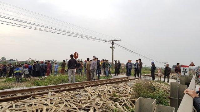 Hiện trường vụ tai nạn. (Nguồn: nhandan.com.vn)