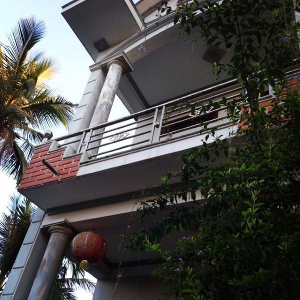 Đi thi đấu ở xa, đội trưởng U23 Việt Nam thường xuyên đăng tải ảnh căn nhà ở quê với nỗi nhớ da diết