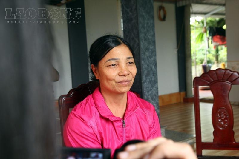 Mẹ của Văn Thanh. Ảnh: Cường Ngô