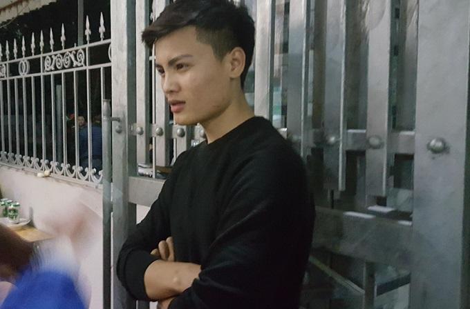 Anh Nguyễn Quang Phong - anh trai tiền vệ Quang Hải. Ảnh: Hạnh Thúy